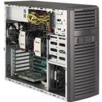 Carcasa server SuperMicro Mid-Tower 4x 3.5 internal tool-less HDD bays w/ 2x Xeon E5-2600 support C602 - SYS-7037A-I