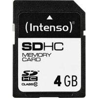 Card de memorie intenso SD 4GB (3411450)