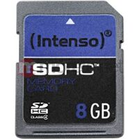 Card de memorie intenso SDHC de 8 GB 3401460