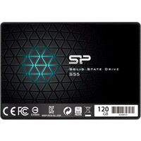 Silicon Power SSD Slim S55 120GB 2.5'', SATA III 6GB/s, 550/420 MB/s, 7mm, SP120GBSS3S55S25