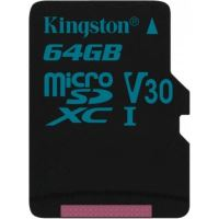 Card de memorie kingston Canvas Go 64GB UHS-I (SDCG2 / 64GBSP)
