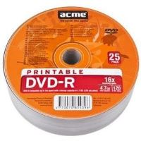 Medii de stocare acme DVD-R 4,7GB 16X psihiatru 25pack imprimabile (005284)
