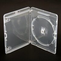 Carcasa Blu-Ray AMARAY BOX 14MM 1 DISC CLEAR WITH CLIP - DA1BRP