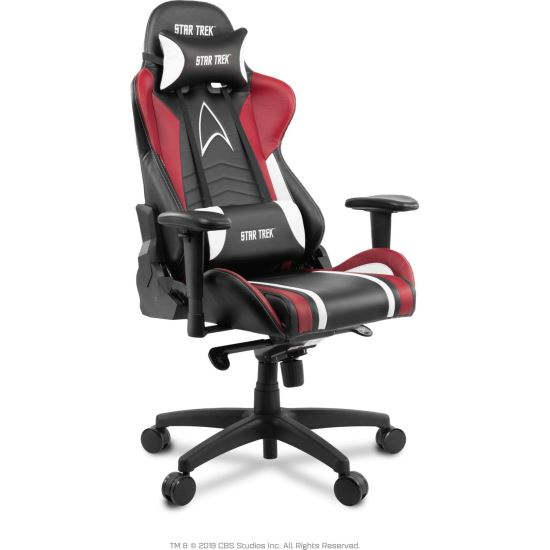 Scaun gaming arozzi Star Trek Edition Red