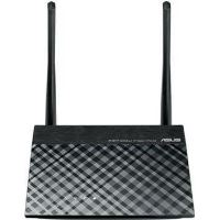 Router wireless 3-in-1 Asus RT-N11P, N300, Negru