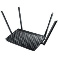 Router wireless ASUS Gigabit DSL-AC52U Dual-Band, Negru