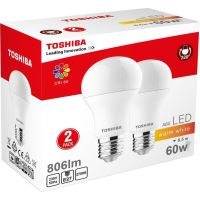 LED-A60 8.5W pack duo, 806lm, 2700K, 80Ra, E27 (00101315130A)
