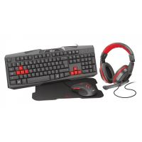 Kit Tastatura + Mouse trust Ziv 4 in 1 (22199)