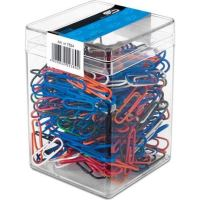 Paperclips KOLO.POW.28MM In BOX 61300 plastifiate 300 bucati - 61300
