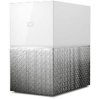 Dispozitiv de stocare atasate la retea , Western Digital , My Cloud Home Duo 12TB , gri