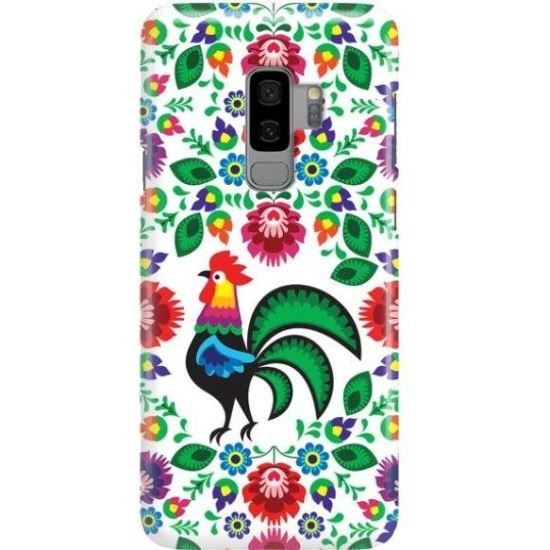 FUNNY CASE ROOSTER PRINT ALB GALAXY SAMSUNG S9 PLUS