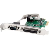 Port Controler & oacute; PCI-Express 1xCOM (9 PIN) + 1xLPT (25 pini) Gembird
