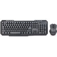 Kit Tastatura + Mouse Gamebird, Wireless, 1000dpi, Negru