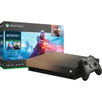 Microsoft Xbox One X - 1TB Battlefield V Gold Rush Special Edition Bundle