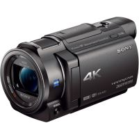 Camera video Sony FDR-AX33, Ultra HD 4K, Negru