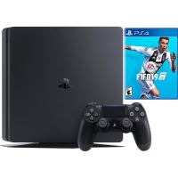 Sony Playstation 4 (PS4) Slim 1TB + FIFA 19