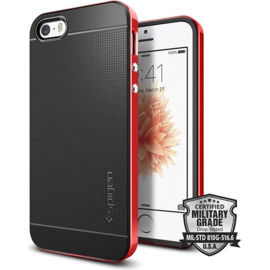 Hybrid Neo Carbon iPhone 5S / SE Dante Red