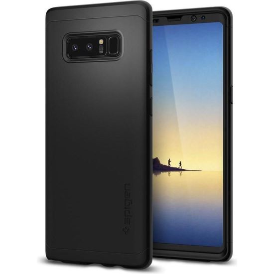 SPIGEN SUBȚIRE FIT 360 GALAXY NOTA 8 BLACK