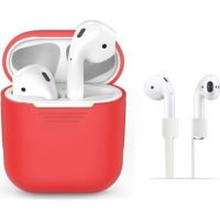 Accesoriu tech-protect SET RED AIRPODS