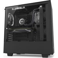 Carcasa NZXT H500i Smart Matte Mid-Tower, Black